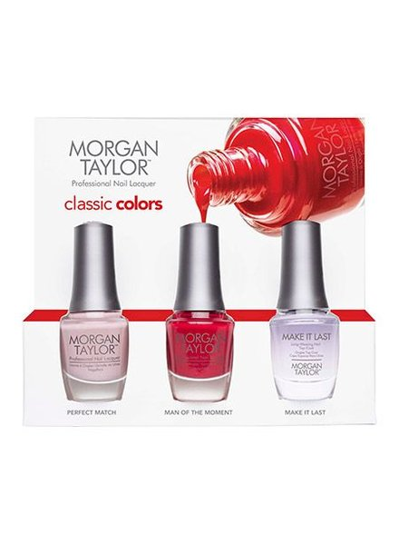 MORGAN TAYLOR 3PC CLASSIC COLORS