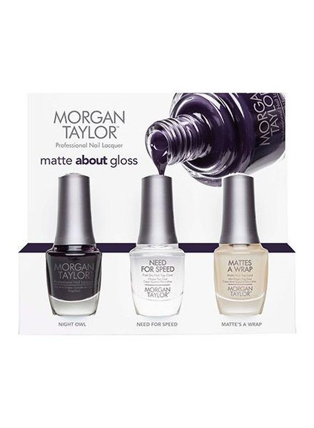 MORGAN TAYLOR MATTE ABOUT GLOSS