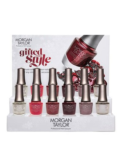 MORGAN TAYLOR 51275 HOLIDAY 2015 DISPLAY 12PCS