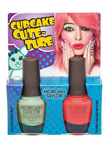 MORGAN TAYLOR HELLO PRETTY DUO CUPCAKE CUTURE