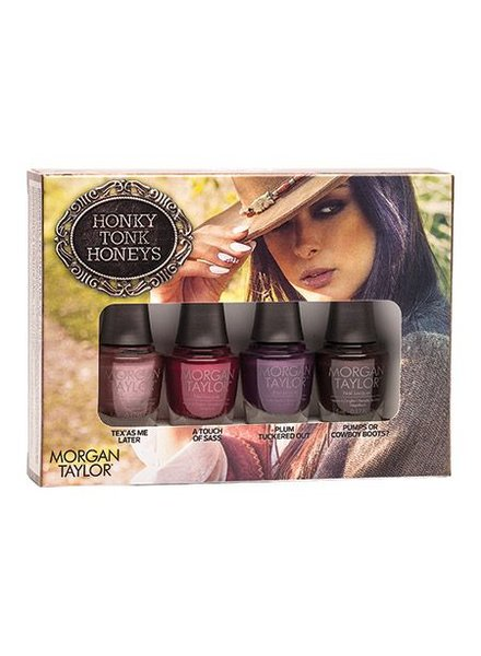 MORGAN TAYLOR 4PC MINI HONKY-TONK HONEYS - URBAN COWGIRL