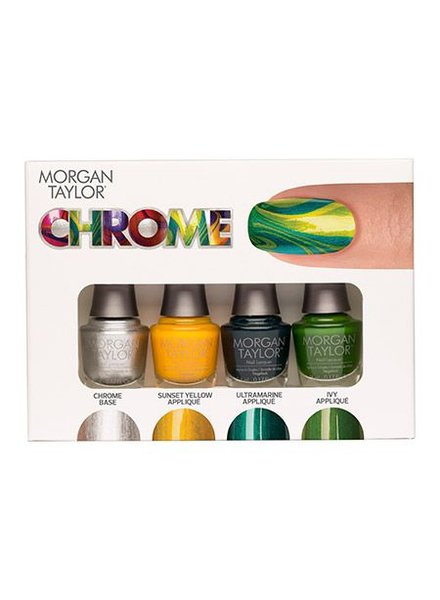 MORGAN TAYLOR 4PC MINI CHROME #1