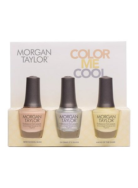 MORGAN TAYLOR COLOR ME COOL TRIO