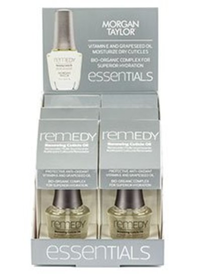 MORGAN TAYLOR 51559 REMEDY RENEWING CUTICLE OIL PDQ DISPLAY