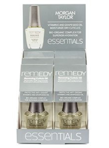 MORGAN TAYLOR REMEDY RENEWING CUTICLE OIL PDQ DISPLAY