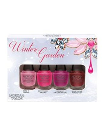 MORGAN TAYLOR 4PC MINI THE WINTER GARDEN