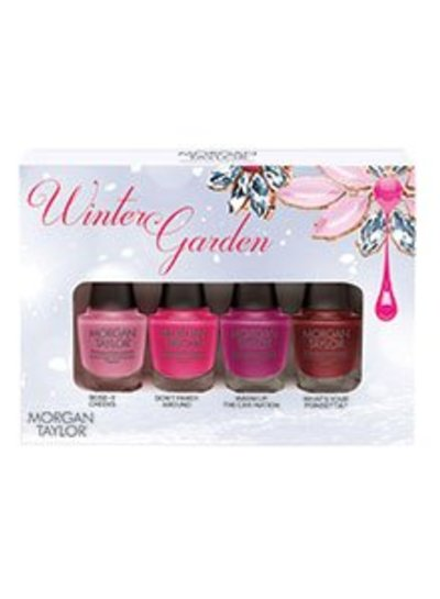 MORGAN TAYLOR 51276 4PC MINI THE WINTER GARDEN