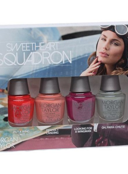 MORGAN TAYLOR 4PC SWEETHEART SQUADRON COLLECTION MINIS