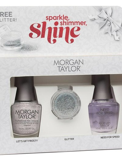 MORGAN TAYLOR 51321 SPARKLE, SHIMMER, SHINE DUO PACK