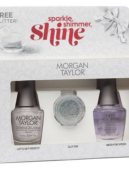 MORGAN TAYLOR SPARKLE, SHIMMER, SHINE DUO PACK