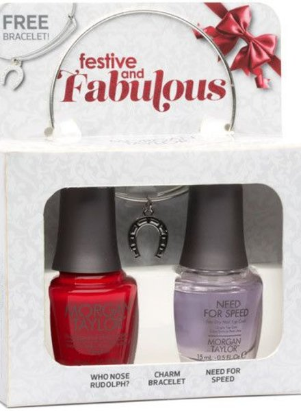 MORGAN TAYLOR FESTIVE AND FABULOUS DUO PACK