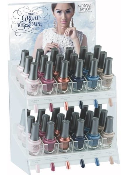 MORGAN TAYLOR 36PC THE GREAT ICE ESCAPE COLLECTION