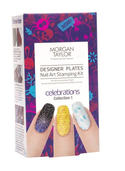 MORGAN TAYLOR CELEBRATIONS I DESIGNER PLATES KIT