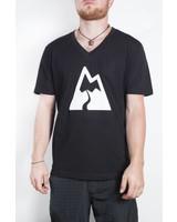 Gipfeltraeumer T-Shirt - Bergsüchtig - schwarz
