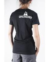 Gipfeltraeumer T-Shirt - Bergtreue - schwarz