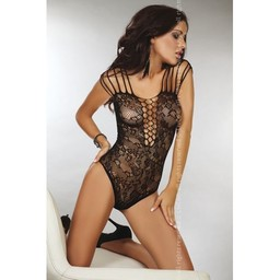 Livia Corsetti Fashion Zwart kanten body