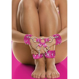 Ouch Hogtie - Roze