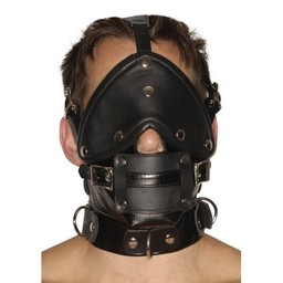 Strict Leather Muilkorf met blinddoek en knevel