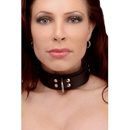 Strict Leather Slim Line Rubber Collar