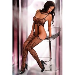 Livia Corsetti Fashion Praline Catsuit - Zwart