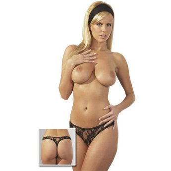 Cottelli Collection Luxe open-kruis string