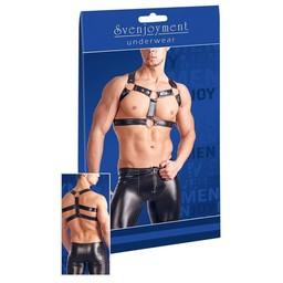 Svenjoyment Underwear Wetlook Harnas - Zwart