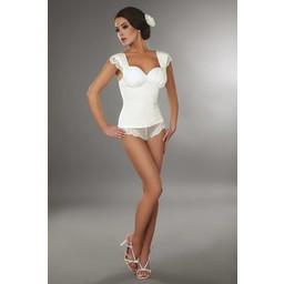 Livia Corsetti Fashion Pyjama top Ingrid - Wit