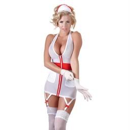 Cottelli Collection Sexy Zuster Kostuum