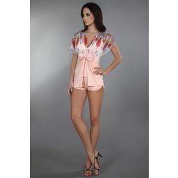 Livia Corsetti Fashion Imperia Korte Kimono - Roze