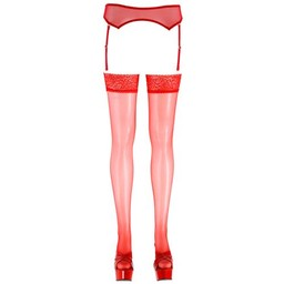Cottelli Collection Stockings Red