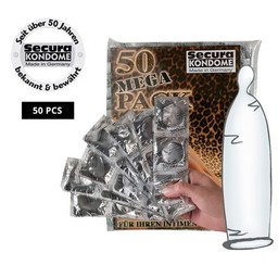 Secura Kondome Secura Transparant Condooms - 50 stuks