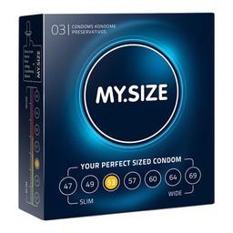My.Size MY.SIZE 53 mm Condooms 3 stuks