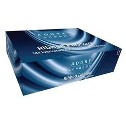 Pasante Adore Ribbed condooms 144 stuks