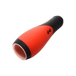 Lovebotz Vibrerende automatische masturbator - Rood