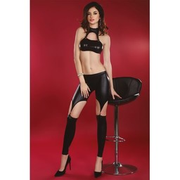 Livia Corsetti Fashion Busajna Set Top en Legging - Zwart