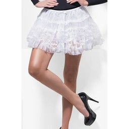 Fever Kanten Petticoat - Wit