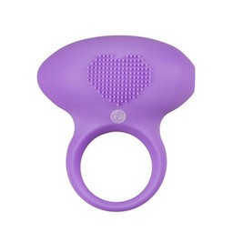 Easytoys Couples Collection Love Ring Vibrerende Cockring - Paars