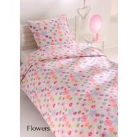 Cottons Dekbedovertrek Flanel Flowers