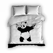 Satin d'Or Dekbedovertrek Satijn Panda