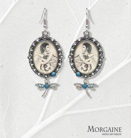 "Fantasy Earrings - ""Dragonfly"""