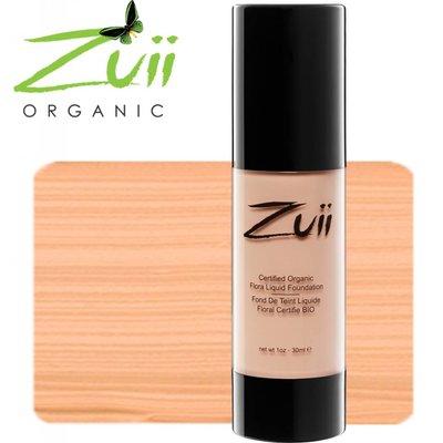 Zuii Organic Flora Liquid Foundation Natural Ivory