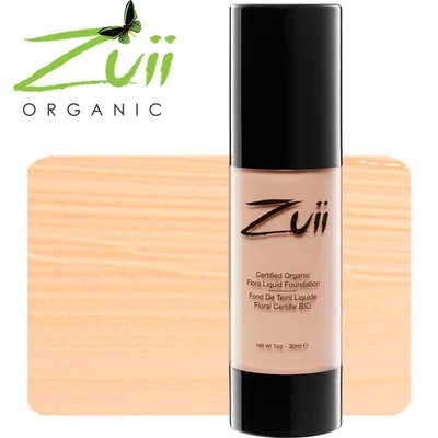 Zuii Organic Flora Liquid Foundation Olive Light