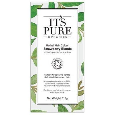 It's Pure Organics Henna haarverf Roodblond