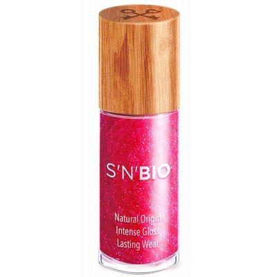 S'N'BIO Nagellak Ruby - Metallic roze
