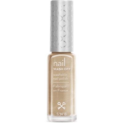 S'N'B Wash Off Zilver-Gouden Glitter Glam Nagellak