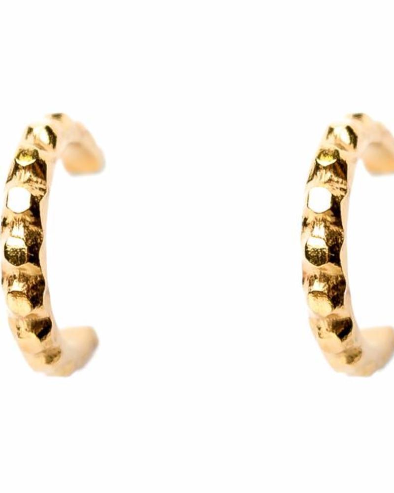 Muja Juma Gold-plated earring - mujajuma