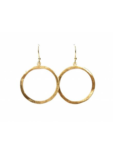 Muja Juma Gold-plated earring - Copy