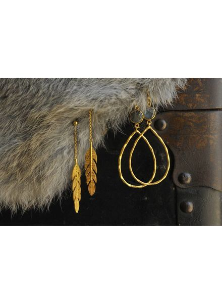 Muja Juma Gold-plated earring