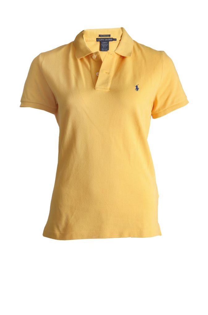 Ralph Lauren Ralph Lauren. Yellow polo shirt in size L. ...