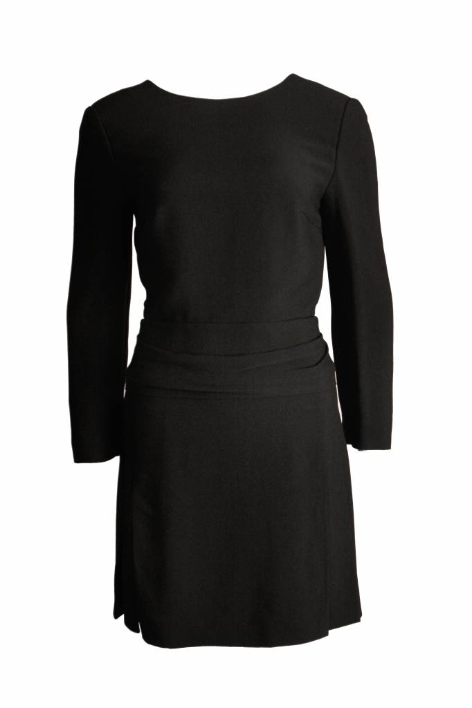Chlo Chloe Black Dress With Open Back In Size 38fs Unique